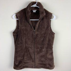 White Sierra fleece vest